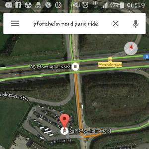 Park&Ride Pforzheim Nord
