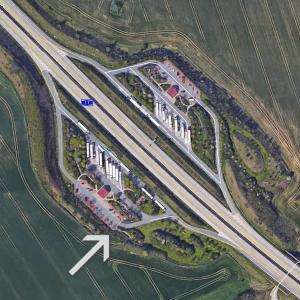 A17 Parkplatz Nöthnitzgrund / Richtung Pirna