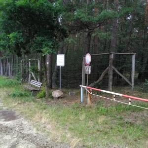 Pakplatz Vor russischen Kriegsfriedhof