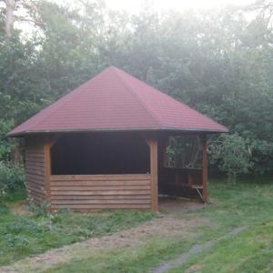 Hütte am Pestruper-Gräberfeld Glory Hole